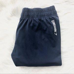 GYMSHARK Navy Blue Leggings Logo size XS